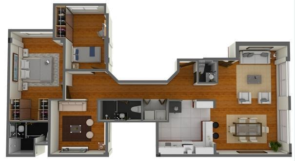 Venta de departamento en magdalena del mar (95.39 m²)