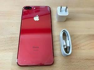 iPhone 7 Plus 128gb Libre Con Accesorios Rojo Red Apple