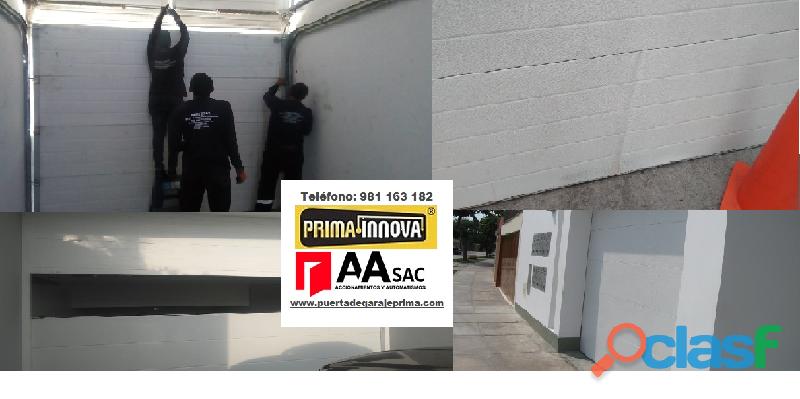 Puertas de Garaje Seccional Lima   Perú 4