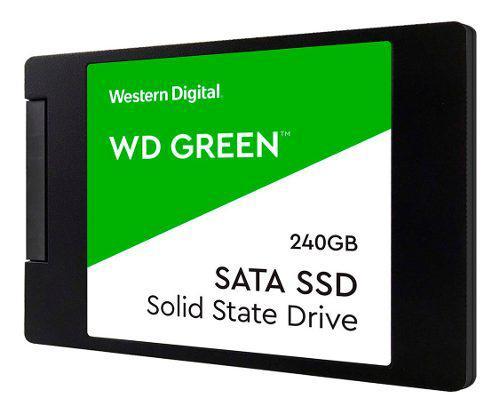 Disco sólido ssd 2.5 7mm wd green 240gb sata 3.0