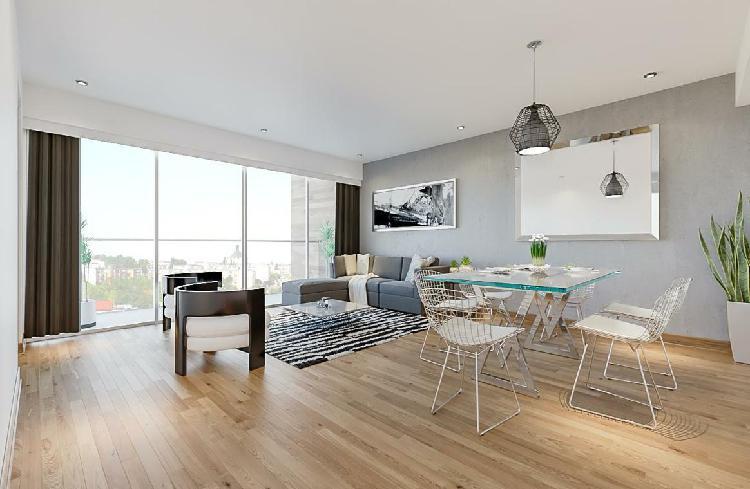 Exclusivo flat 3 dorm y balcón / entrega noviembre 2020