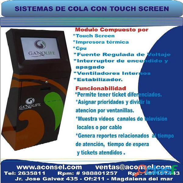 Kiosco Multimedia de Auto Consulta 1