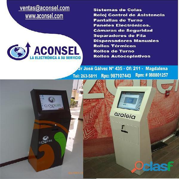 Kiosco Multimedia de Auto Consulta 3