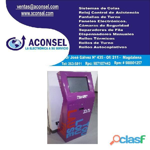 Kiosco Multimedia de Auto Consulta 4