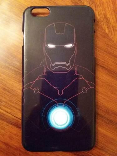 Case carcasa funda protector iphone 6s plus iron man
