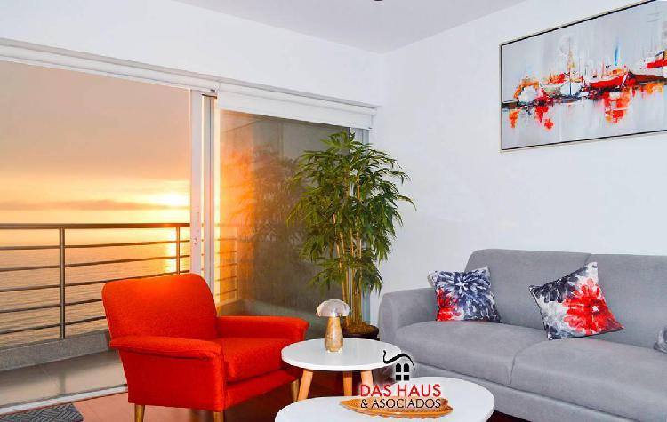 Duplex estreno amoblado 2 terrazas con espectacular vista