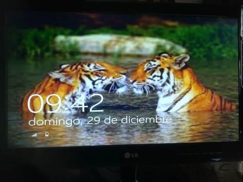 Monitor Lg 21, Led - Hd Mod.e 2240 Tv. Precio S/.240.