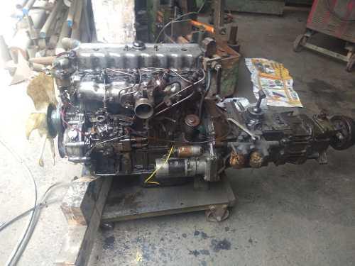 Motor nissan fd35 sin turbo4 cilindros caja cambio incluid