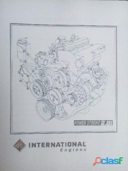 vendo motor y caja de ford Ranger año 2005 motor 2.8 1