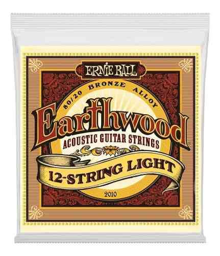 Earthwood 2010 Set Para Guitarra 12 Cuerdas Phosphorbronze