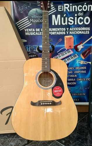 Guitarra Acústica Fender Fa-125