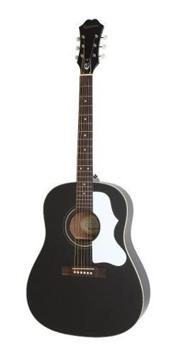 Guitarra acustica epiphone ej-45 ebony + garantía