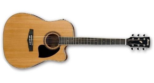 Guitarra Ibanez Pf17ece Nt Electroacústica Jumbo +