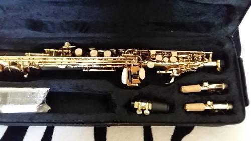 Nuevo!!! saxo soprano dorado holtons !!!!