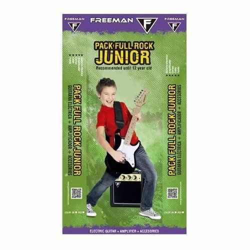 Pack Guitarra Eléctrica Stratocaster Kid, Freeman