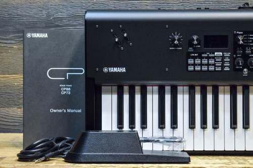 Yamaha cp73 stage piano balanced action 73-note keyboard syn