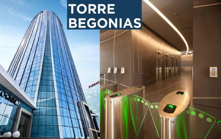 Alquiler oficina 1,085 m² en gris piso 3 en torre