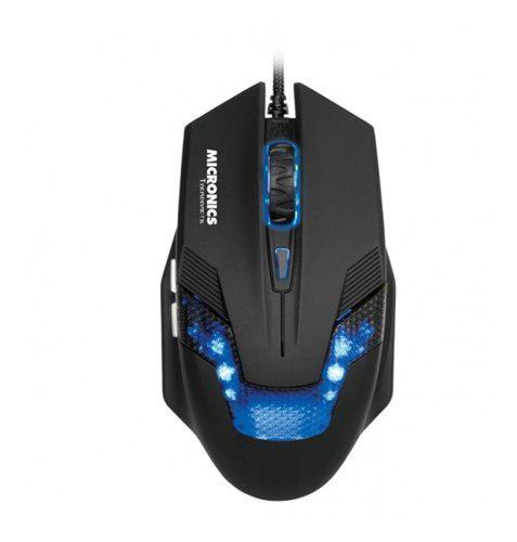 Mouse gamer micronics therodactil mic m815k optico 3200 dpi