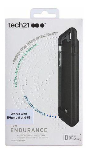 Power case 1800mah tech21 @ iphone 6 6s batería certificada