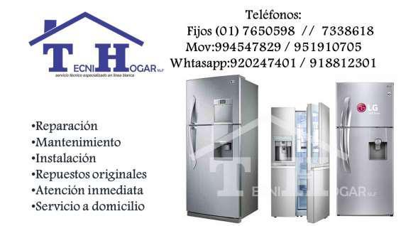 Servicio técnico de refrigeradores lg 7650598 mantenimiento