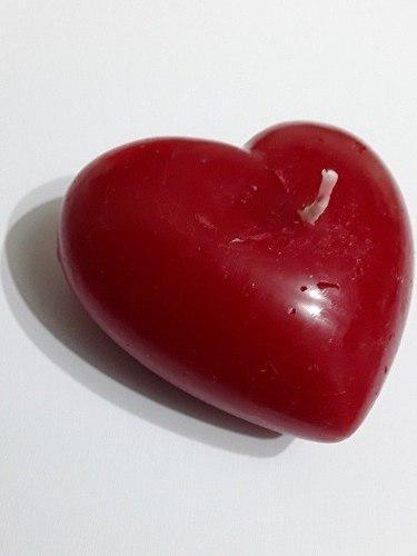 Velas aromáticas de corazón