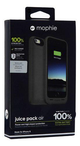 Iphone 6 6s mophie juice pack air 2750mah funda case bateria
