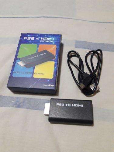 Adaptador Conversor Hdmi Para Ps2 Play Station 2 Y Play 1