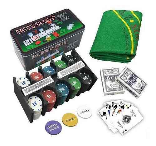 Caja De Poker 200 Fichas