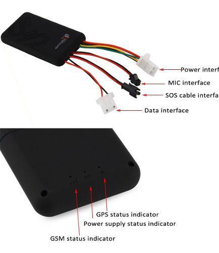 Gps tracker gt07