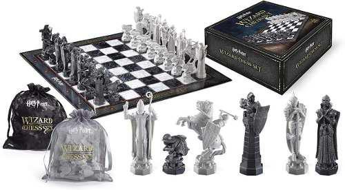 Harry potter - set de ajedrez deluxe the noble collection
