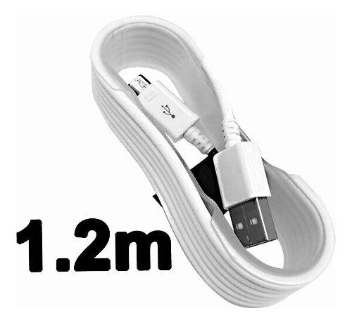 1.2 mt cable micro usb para celular samsung android etc