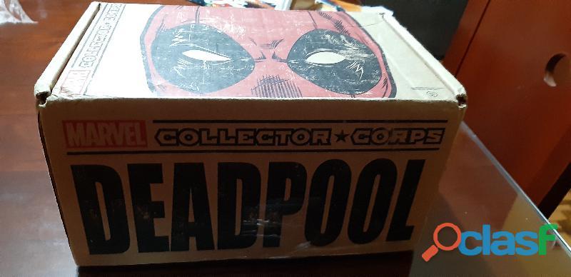 Funko collector box deadpool marvel