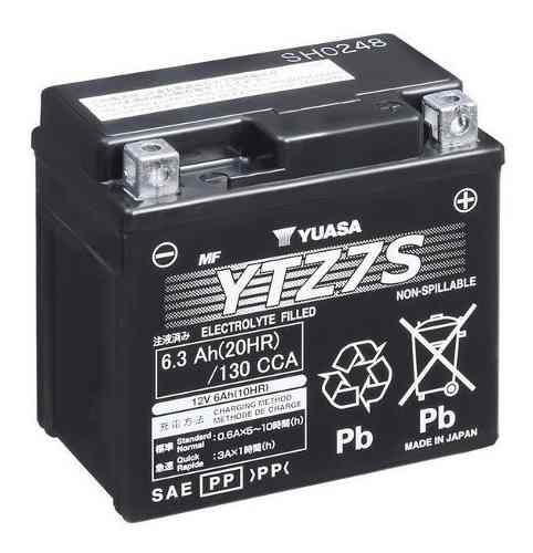 Bateria yuasa, modelo ytz7s