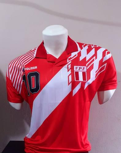 Camiseta Roja Selección Peruana Polmer 1993