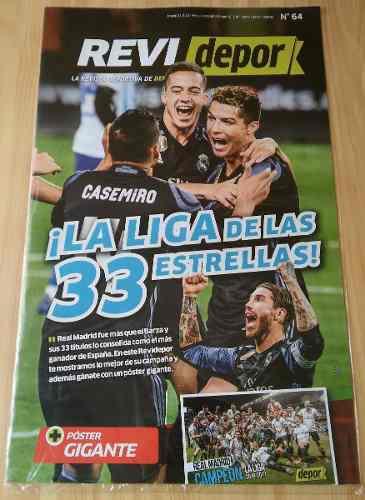 Revidepor Real Madrid, La Liga De Las 33 Estrellas