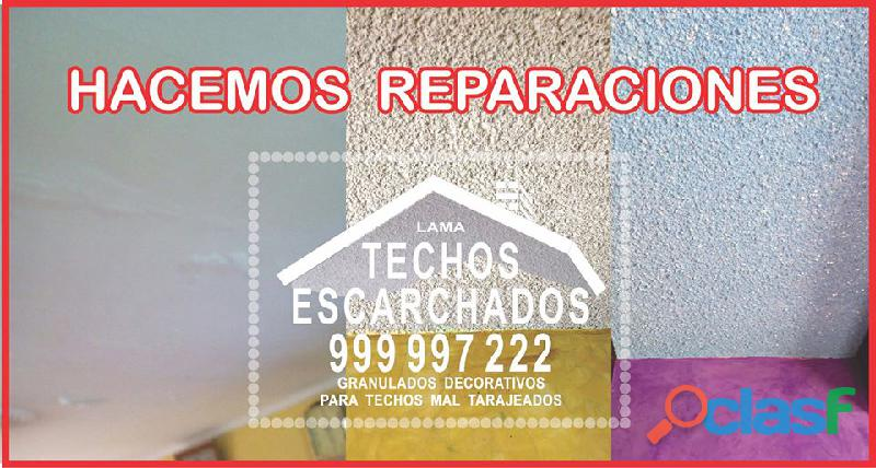 Escarchador de paredes y techos:. rpc:. 999 997 222 .