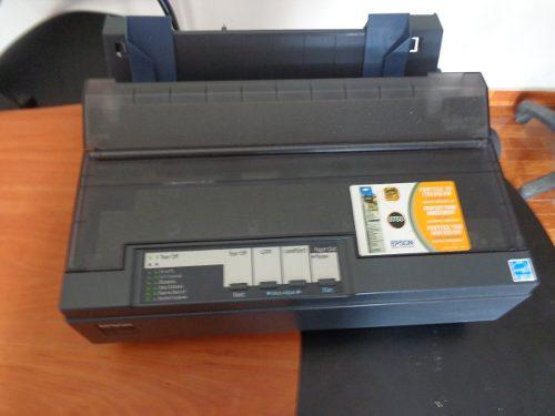 Epson lx 300+ii color negro--- como nuevo todo original