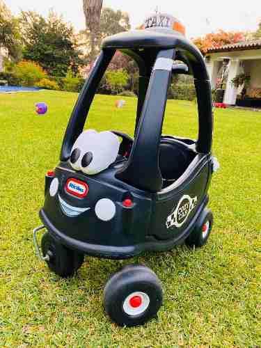 Carro cozy coupe taxi little tikes carro juguete para niños