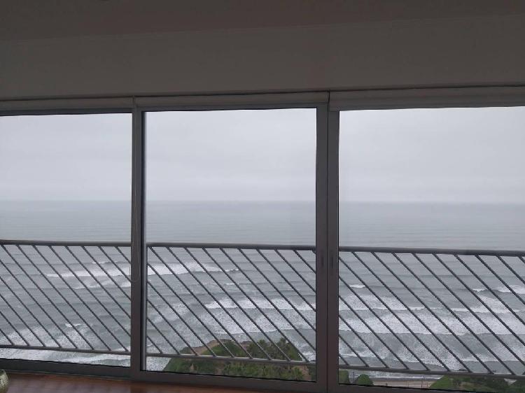 Departamento vista al mar de estreno en malecón miraflores