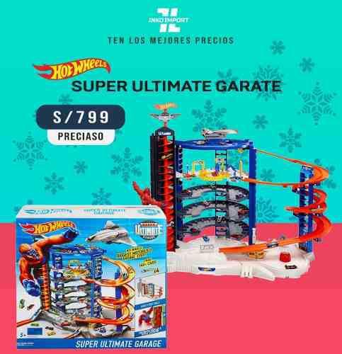 Hot wheels super ultimate mega garage pistas 100% original