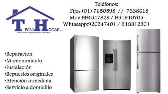 Servicio técnico reparaciones de refrigeradoras white