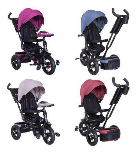 Triciclo chester 5 en 1 ebaby niño y niña