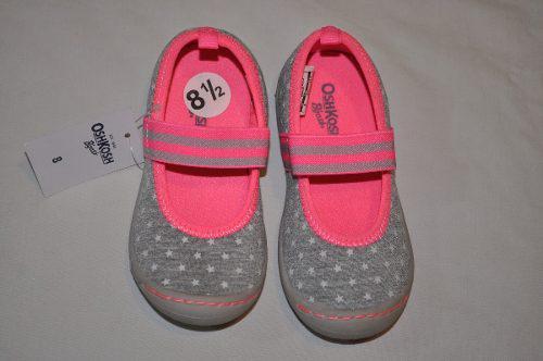 Zapatillas para niña oshkosh b'gosh 8us (abb-47)
