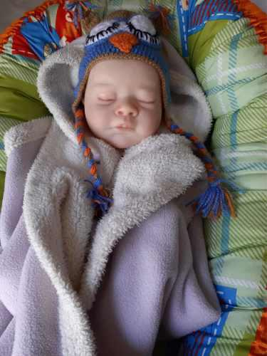 Stock verdadero bebe reborn original kit gena: también