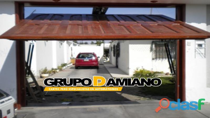 PUERTAS AUTOMÁTICAS LEVADIZAS GRUPO DAMIANO PERÚ E.I.R.L 2