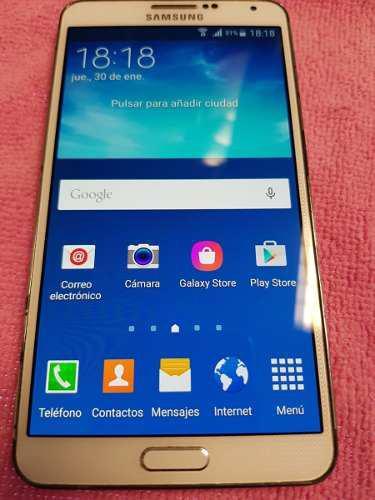 Samsung galaxy note 3 - blanco- tienda
