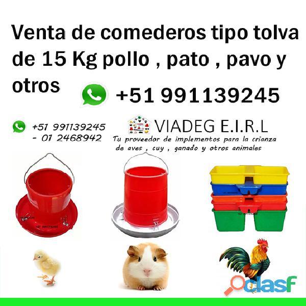 Venta de bebederos comederos pollo gallina pavo pato y otros animales