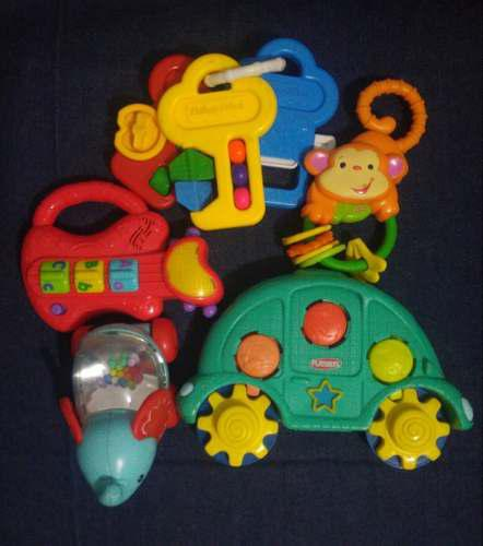 Fisher price playskool lote de 5 juguetes todo a 70 soles