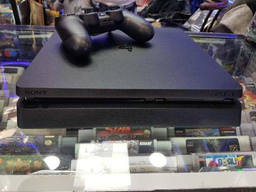 Playstation 4 ps4 slim 500gb semi-nuevo + 1 mando + 1 juego
