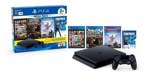 Sony play station slim 1tb,megapack +3 juegos cuh-2215b